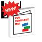 Custom Printed 'You Complete Me' Lego Card