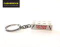 Teacher and Teaching Assistant LEGO Keyrings
