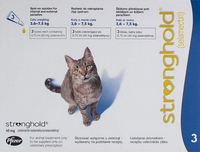 Stronghold Blue Cats 5.1-15lbs (2.6-7.5kg) - 3 Pack