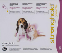 Stronghold Pink Kittens and Puppies under 5lbs (2.5kg) - 6 Pack