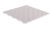 "DiamondTrax ""Arctic White"" SALE PRICE ONLY $3.96 PER SQ FT Tile Size: 13"" x 13"" (1 Tile = 1.72 sq ft)"
