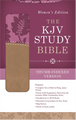 The KJV Study Bible Women's Edition Tan/Pink Indexed
