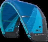 2018 Cabrinha FX Kiteboarding Kite Blue