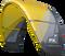 2018 Cabrinha FX Kiteboarding Kite Yellow