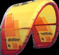 2019 Cabrinha Drifter Kiteboarding Kite - Red/Yellow (001)