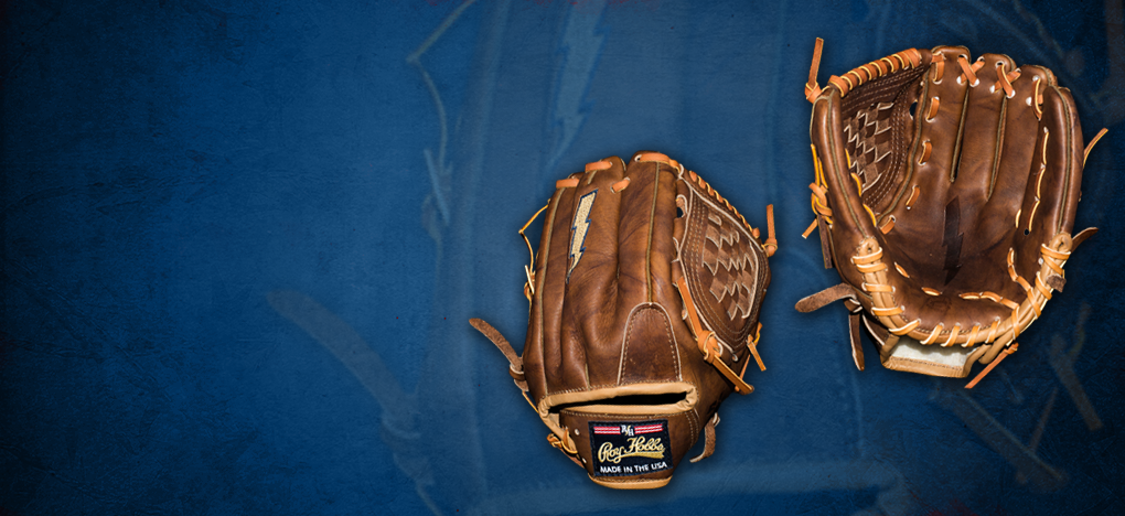 The Natural Top quality US made burnished walnut color baseball glove