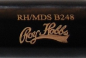 RH/MDS 248 Black Wooden Bat Barrel
