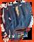 Youth Infielder's Baseball Glove | GRH-1000w bolt detail