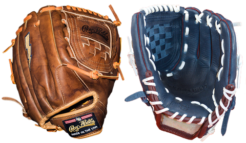 Pitcher's / Outfielder's Baseball Glove Made in the USA GRH-1200