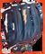Outfielder's Baseball Glove   GRH-1300w side