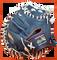 Roy Hobbs Catcher's Mitt | GRH-3400w Made in America Front