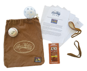 Roy Hobbs Baseball Glove Break-in Kit.