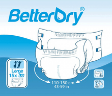 Sample of BetterDry Adult Diapers