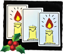Candle Cards Magic Trick Gospel Card