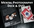 Mental Photography Deck & DVD - Faces and backs magically print on a deck of blank playing cards!