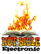 Hot Book Bible Fire Flame