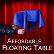 Affordable Floating Table