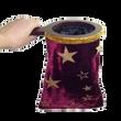 Red burgundy change bag magic trick
