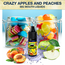 Big Mouth Crazy Apples And Peaches Concentrate