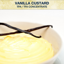 TPA / TFA Vanilla Custard Concentrate