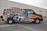 CHEVY VAN MATT 3M VEHICLE WRAPS WITH CUSTOM DESIGN