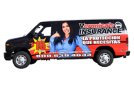 2012 Ford Van GF gloss wrap for Veronica's Auto Insurance