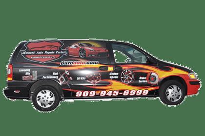 chevy van vehicle wrap using gf for discount auto center get more wraps. Black Bedroom Furniture Sets. Home Design Ideas
