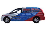 Dodge Caravan Van Wrap using GF For Moss Brothers Dealerships