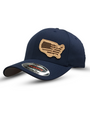 American Lineman Leather Patch Hat (Navy)