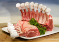 Cut Out The Supermarket - Buy Premium Lamb Rack From Smithfield Market