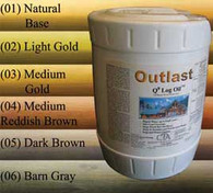 Outlast Q8 Log Oil (five gallons)
