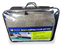 Coast Multi Purpose Floor Matting Grey (250 x 500cm)