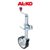 "Alko 10"" Solid Tyre Jockey Wheel"