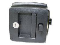 Camper Door Lock (Black)