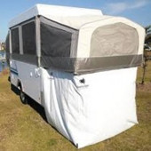 Off Road Camper Bed End Garage