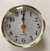 Gold Jayco Caravan Wall Clock
