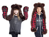 Brown Bear Kids SpiritHood