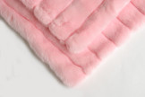 Rabbit Stripe & Pink Pet Blanket