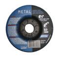 "Norton Grinding Wheels 4 1/2"" x 1/4"" x 7/8"" Depressed Center - Metal"