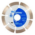 "Blue Lightning Diamond Saw Blades 5"" x .080 x 7/8"", 5/8"" - Segmented"