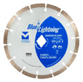 "Blue Lightning Diamond Saw Blades 8"" x .090 x Diamond, 5/8"" - Segmented"