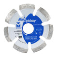"Blue Lightning Diamond Saw Blades 4"" x .400 x 7/8"", 5/8"" - Crack Chaser"