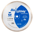 "Blue Lightning Diamond Saw Blades 10"" x .055 x 5/8"" - Glass Tile"