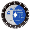 "Blue Lightning Diamond Saw Blades 7"" x .090 x Diamond-7/8"", 5/8"" - Multi-Purpose"