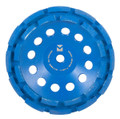 "Segmented Diamond Cup Wheels 7"" x 5/8"" - 11 - Mercer Blue Lightning"