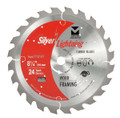 "Silver Lightning Wood Cutting Saw Blades 8 1/4"" x 5/8"" DIA x 24T - 718141"