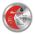 "Silver Lightning Wood Cutting Saw Blades 10"" x 5/8"" x 80T - 711008"