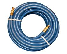 """Air Hoses Goodyear Pliovic PVC BLUE 300# 3/8"""" x 25' - USA"""