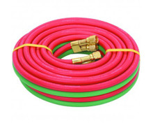"""Welding Hoses Goodyear Twin-Line RED/GREEN 1/4"""" x 25' - USA"""