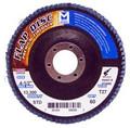 "Mercer Zirconia Flap Disc 4 1/2"" x 7/8"" 80grit Standard - T27 (Pack of 10)"